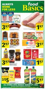 Food Basics Flyer July 29 to August 4, 2021 - Page 1