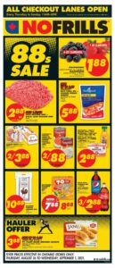 No Frills Flyer August 26 to September 1, 2021 - Page 1 of 14 (ON)