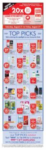 Shoppers Drug Mart Flyer August 20 to August 26, 2021 - Page 1 of Page 15 (ON)