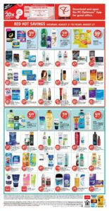 Shoppers Drug Mart Flyer August 20 to August 26, 2021 - Page 14 of Page 15 (ON)