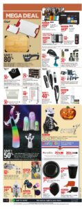 Canadian Tire Flyer October 8 to October 14, 2021 - Page 7 of 20 - Mega Deal, Party City, Halloween