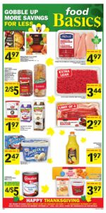 Food Basics Flyer October 7 to October 13, 2021 - Page 1 of 15 - Gobble Up More Savings For Less