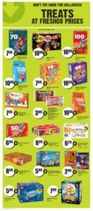 FreshCo Flyer October 7 to October 13, 2021 - Page 13 of 14 - Don't pay more for halloween treats at freshco prices