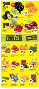 FreshCo Flyer October 7 to October 13, 2021 - Page 3 of 14 - Double Fresh Guaranteed