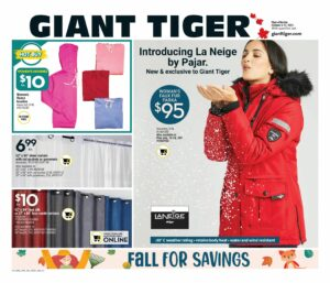 Giant Tiger Flyer October 6 to October 12, 2021 - Page 10 of 22 - Fall For Savings, La Neige By Pajar