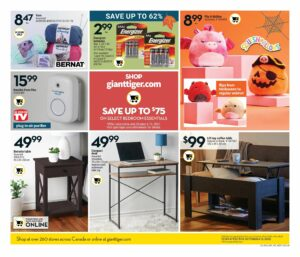 Giant Tiger Flyer October 6 to October 12, 2021 - Page 17 of 22