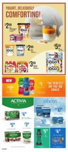 Loblaws Flyer October 7 to October 13, 2021 - Page 17 of 17 - Yogurt Deliciously Comforting