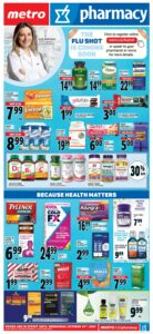 Metro Flyer October 7 to October 13, 2021 - Page 14 of 22 - Pharmacy
