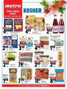 Metro Flyer October 7 to October 13, 2021 - Page 20 of 22 - Kosher