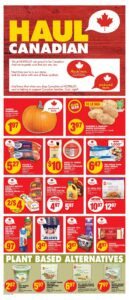 No Frills Flyer October 14 to October 20, 2021 - Page 3 of 10 - Plant Based Alternatives