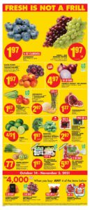 No Frills Flyer October 14 to October 20, 2021 - Page 4 of 10 - Fresh is not a frill