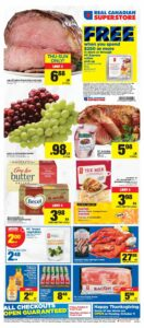 Real Canadian Superstore Flyer October 7 to October 13, 2021 - Page 1 of 14 - Free When You Spend $250 or more