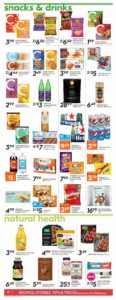 Safeway Flyer October 7 to October 13, 2021 - Page 14 of 20 - Snacks & Drinks