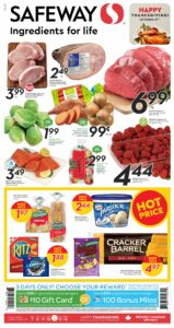 Safeway Flyer October 7 to October 13, 2021 - Page 2 of 20 - Ingrediens For Life - Happy Thanksgiving October 11