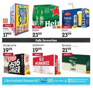Safeway Flyer October 7 to October 13, 2021 - Page 20 of 20 - falls favourites