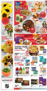 Safeway Flyer October 7 to October 13, 2021 - Page 4 of 20 - Galette-Style Pot Pies
