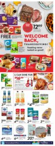 Safeway Flyer October 7 to October 13, 2021 - Page 5 of 20 - Thanksgiving, Feasting never tasted so good