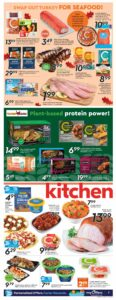 Safeway Flyer October 7 to October 13, 2021 - Page 9 of 20 - Swap out turkey for Seafood
