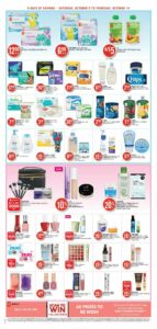 Shoppers Drug Mart Flyer October 9 to October 14, 2021 - Page 6 of 22 - Pharmacy