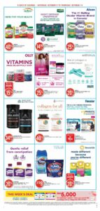 Shoppers Drug Mart Flyer October 9 to October 14, 2021 - Page 7 of 22 - Pharmacy