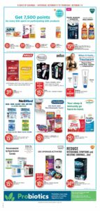 Shoppers Drug Mart Flyer October 9 to October 14, 2021 - Page 8 of 22 - Pharmacy
