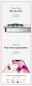 Walmart Flyer October 7 to October 13, 2021 - Page 15 of 21 - iPhone 13 Pro Deals!
