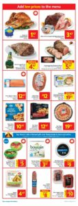 Walmart Flyer October 7 to October 13, 2021 - Page 3 of 21 - Add low prices to the menu